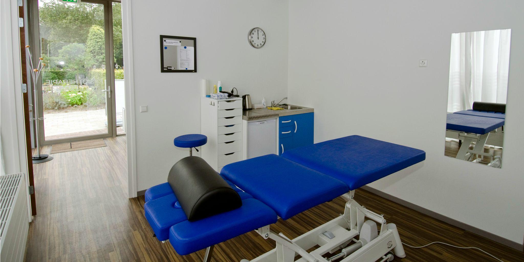 Behandelkamer Archipel Fysiotherapie bij Fitness de Bataaf