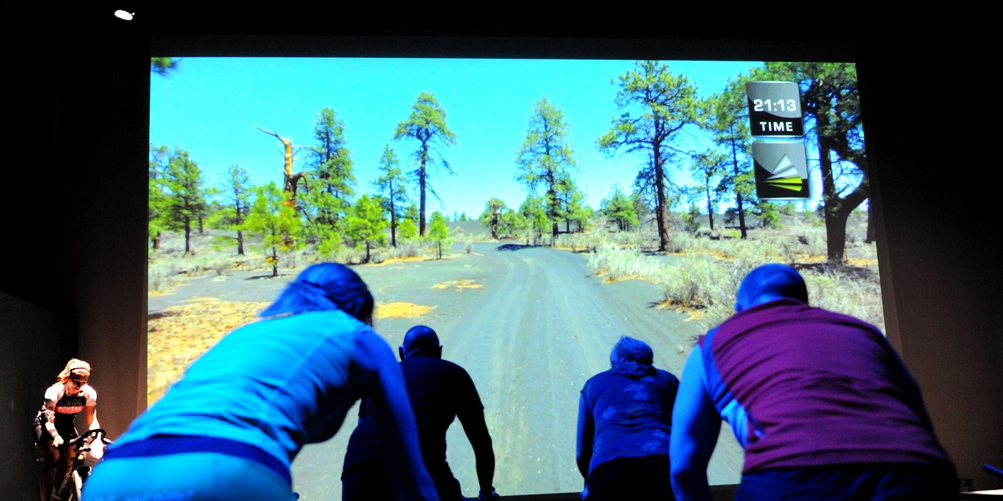 Lesrooster groepslessen Fitness de Bataaf voor VirtualCyling trainingen in Den Haag.