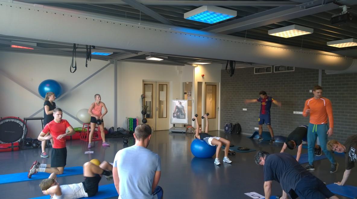 Funtional Training Gladiator Workouts bij Fitness de Bataaf in Den Haag