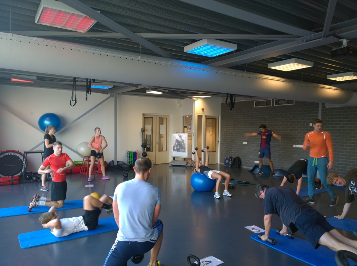 Funtional Training Gladiator Workouts bij Fitness de Bataaf in Den Haag