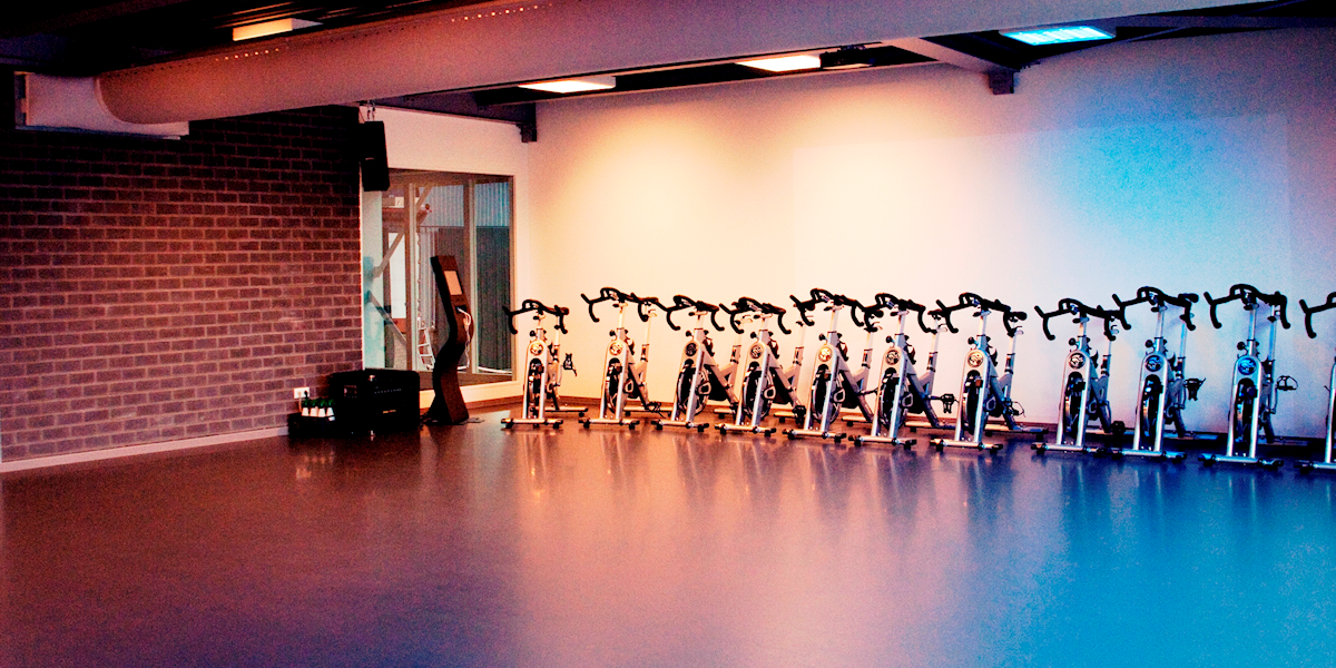Spinning & Multifunctionele zaal bij Fitness de Bataaf in Den Haag