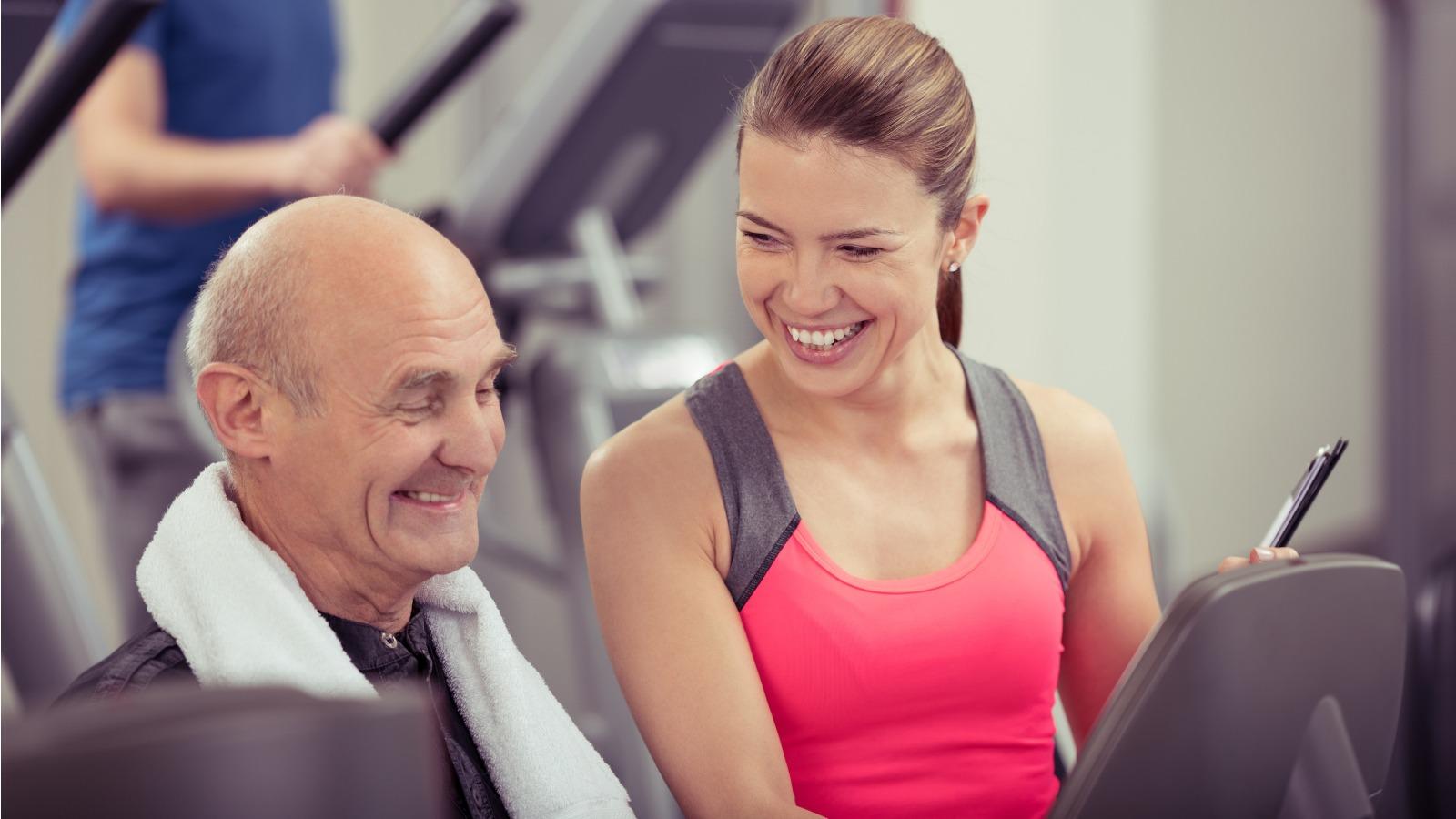 De beste 50+ Fitness volg je bij Fitness de Bataaf in Den Haag