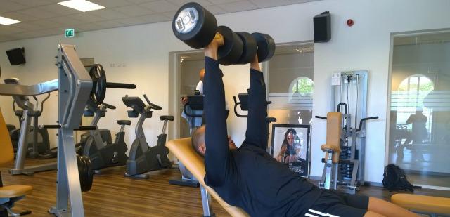 Krachttraining bij Fitness de Bataaf in Den Haag
