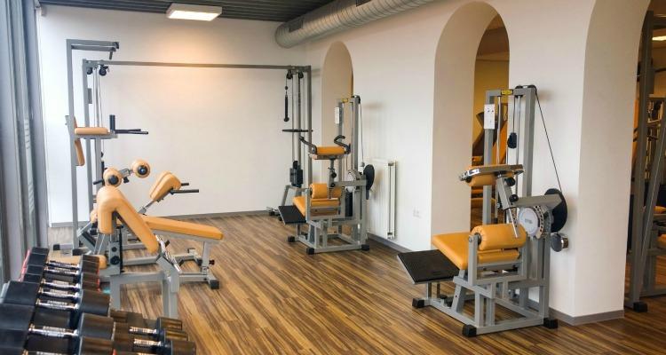 Personal Training Den Haag - Trainingsruimte serre bij Fitness de Bataaf in Den Haag.