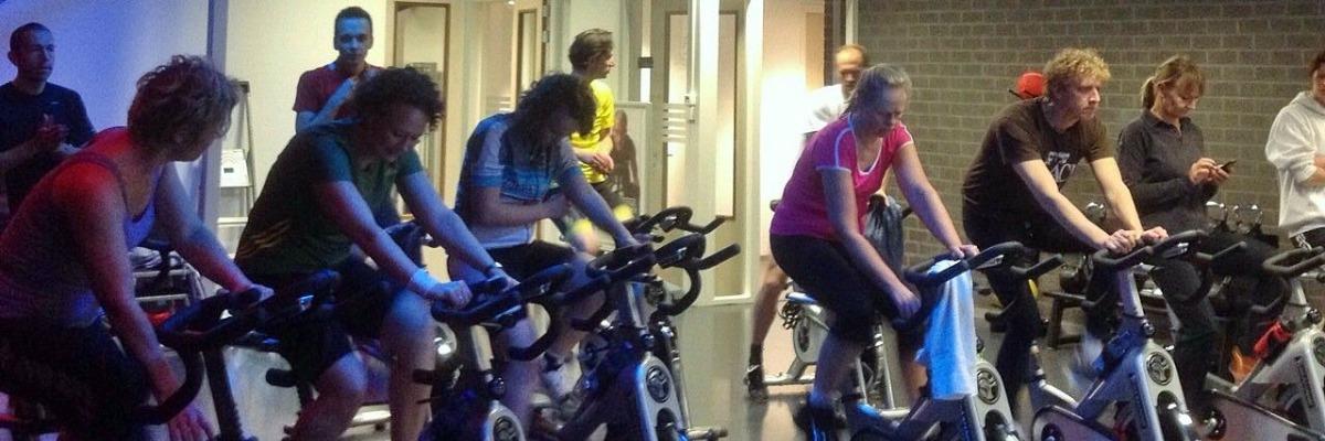 Voorbereiding Spinning & Indoorcycling les bij Fitness de Bataaf - Sportschool Den Haag.