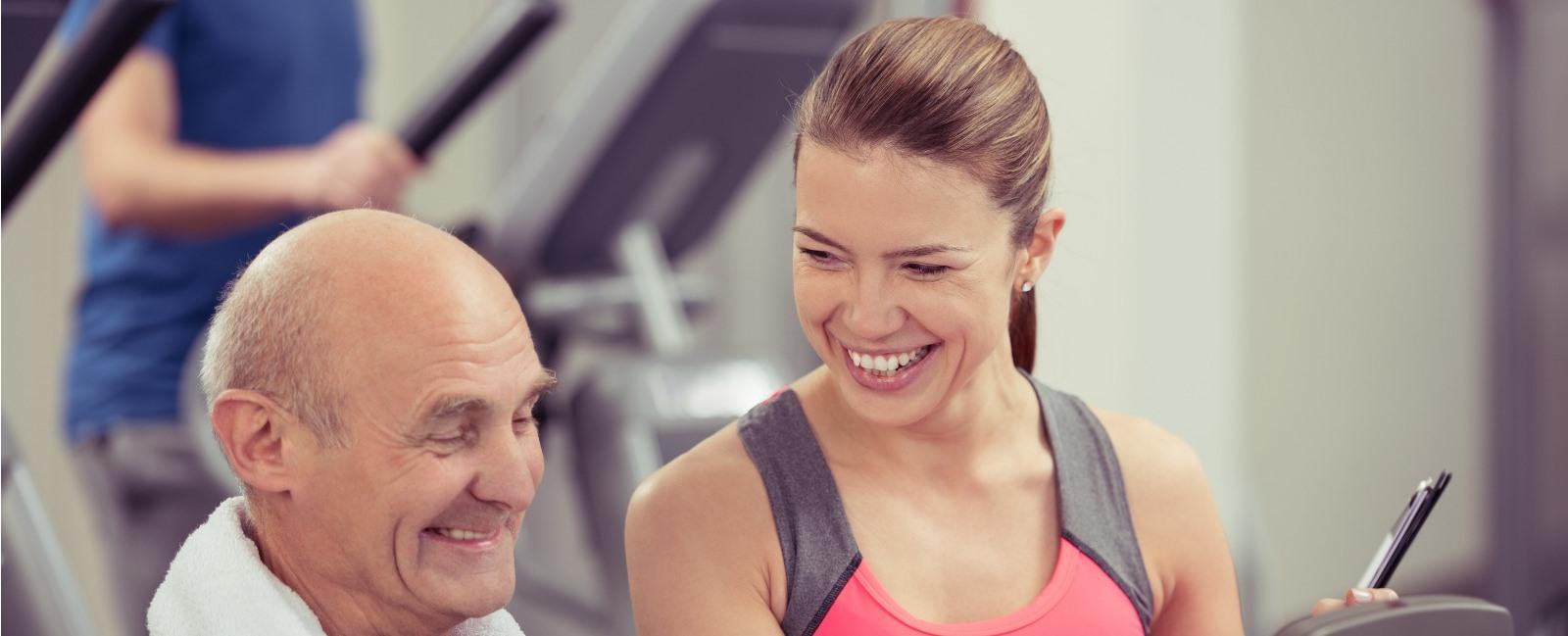 50 Plus Fitness bij Fitness de Bataaf - Sportschool Den Haag
