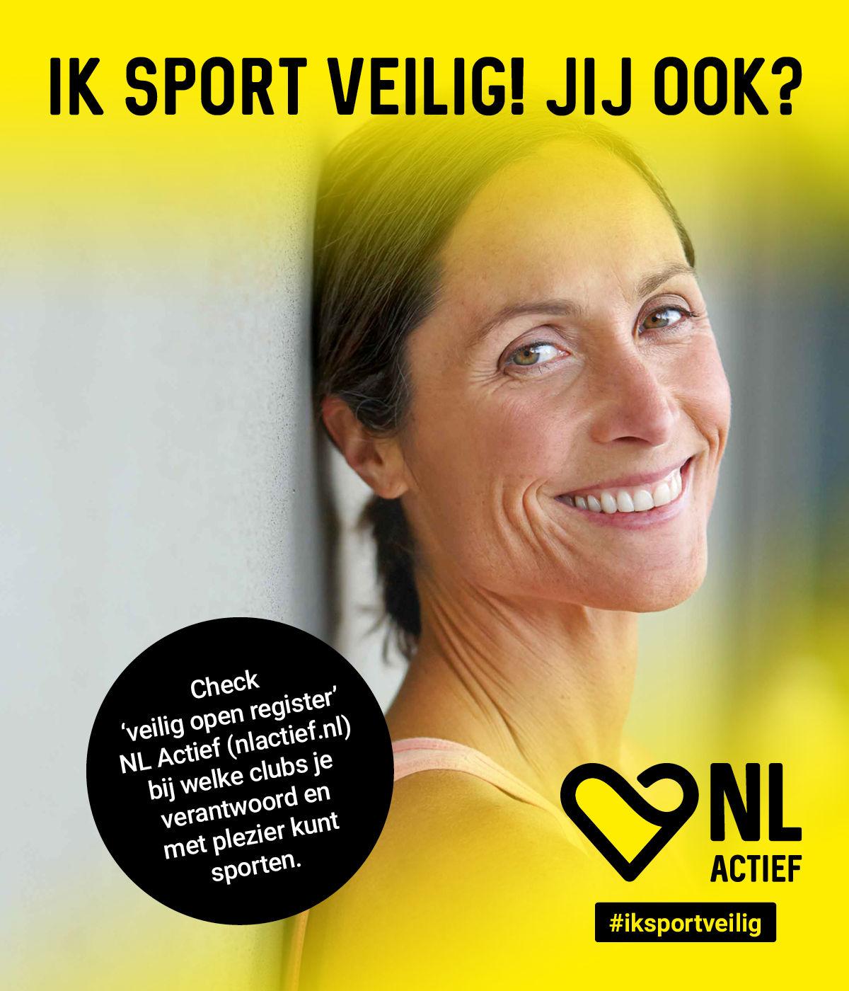 Veilig sporten in Den Haag bij Fitness de Bataaf