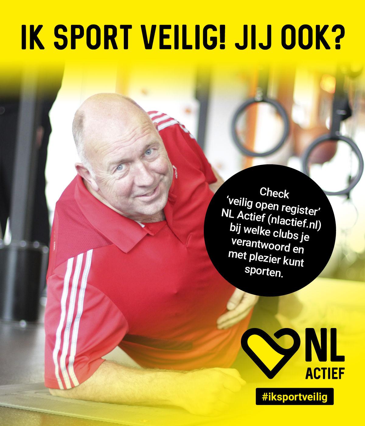 Veilig sporten bij Fitness de Bataaf - 50+ Fitness Den Haag