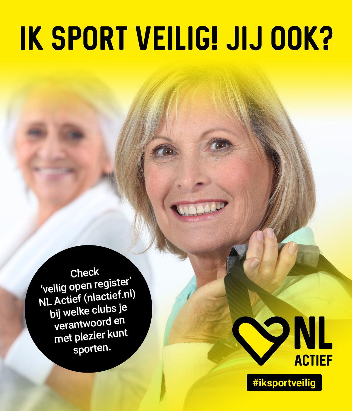 Veilig sporten voor ouderen bij Fitness de Bataaf!