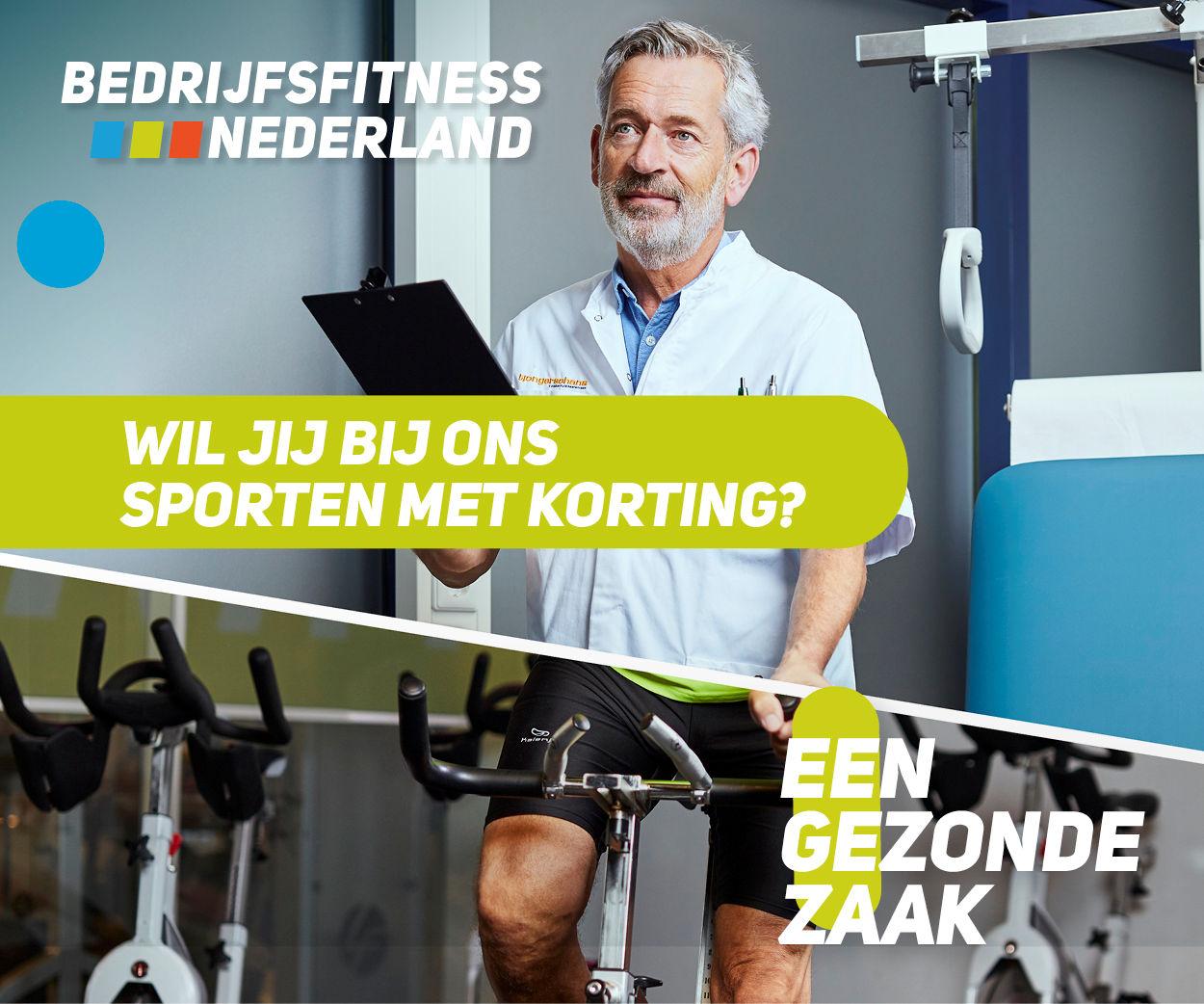 Bedrijfsfitness doe je bij Fitness de Bataaf in Den Haag!